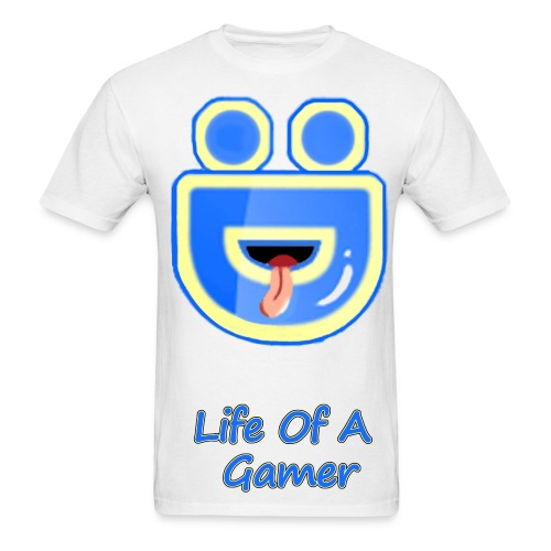 Full Deebz Face Logo Life Of A Gamer  - Men's T-Shirt