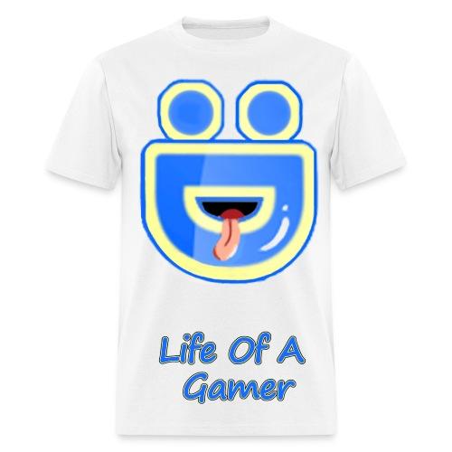 Full Deebz Face Logo Life Of A Gamer  - Men's T-Shirt