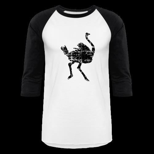 Ostrich Baseball T-Shirt - Baseball T-Shirt