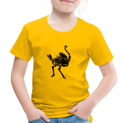 Ostrich Toddler T-Shirt - Toddler Premium T-Shirt