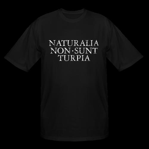 Naturalia Non Sunt Turpia (Vintage White) Tall T-Shirt - Men's Tall T-Shirt