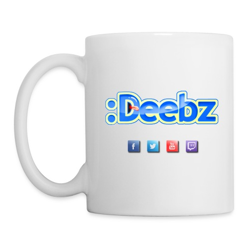 Official Deebz Mug - Coffee/Tea Mug