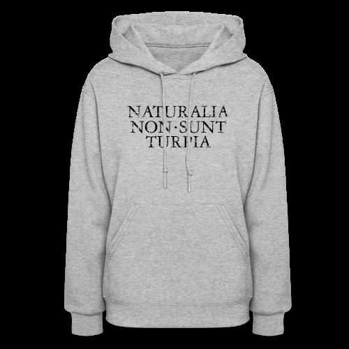 NATURALIA NON SUNT TURPIA Vintage Black