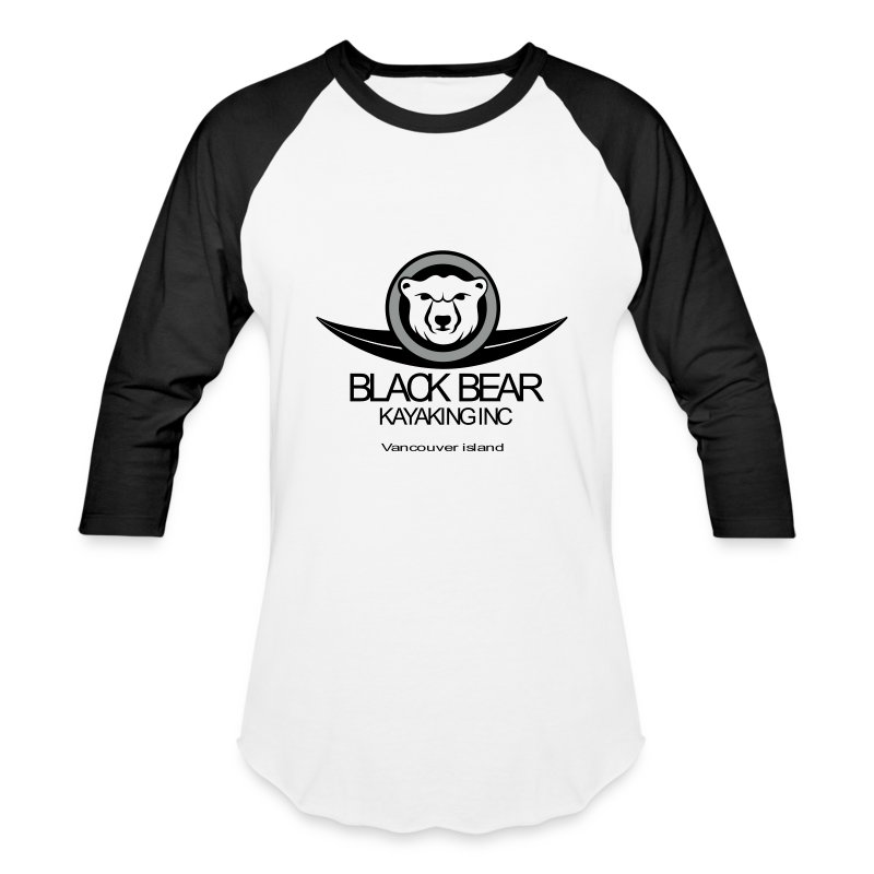 black_bear_kayak - Baseball T-Shirt