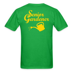 Senior Gardener T-Shirt (Back) - Men's T-Shirt