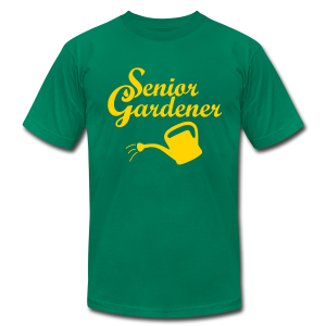 Senior Gardener T-Shirt - Men's T-Shirt by American Apparel