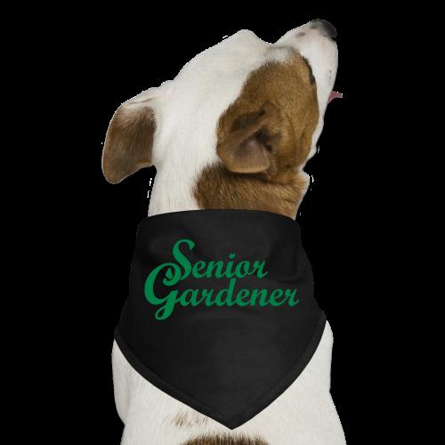 Senior Gardener Dog Bandana - Dog Bandana