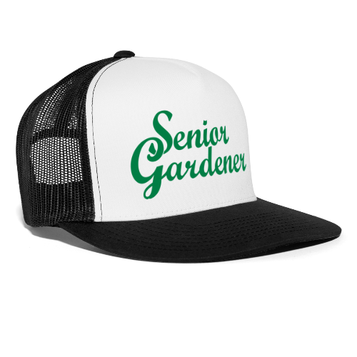 Senior Gardener Trucker Cap - Trucker Cap