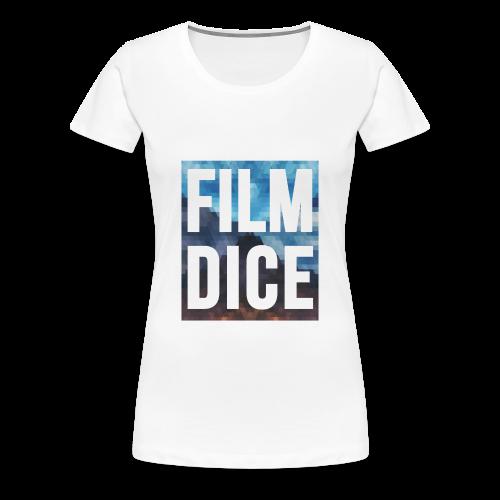 FilmDice Womens - 'Earth and Sky' Shirt - Women's Premium T-Shirt