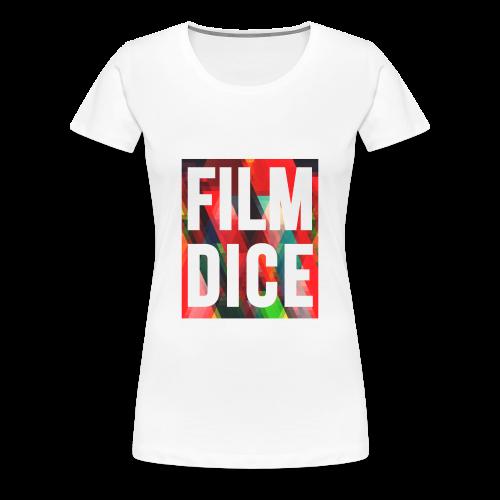 FilmDice Womens - 'Splatter' Shirt - Women's Premium T-Shirt