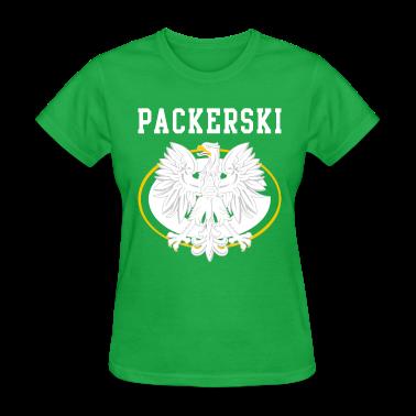 Packerski greenbay polish t shirt spreadshirt for Polish t shirts online