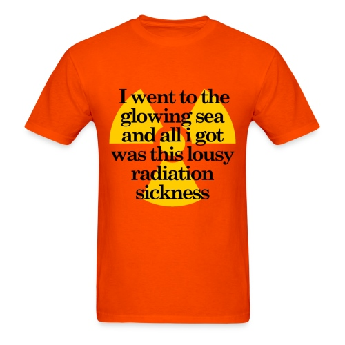Glowing Sea - Men's T-Shirt