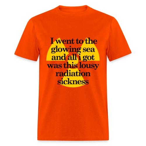 Glowing Sea - Men's T-Shirt
