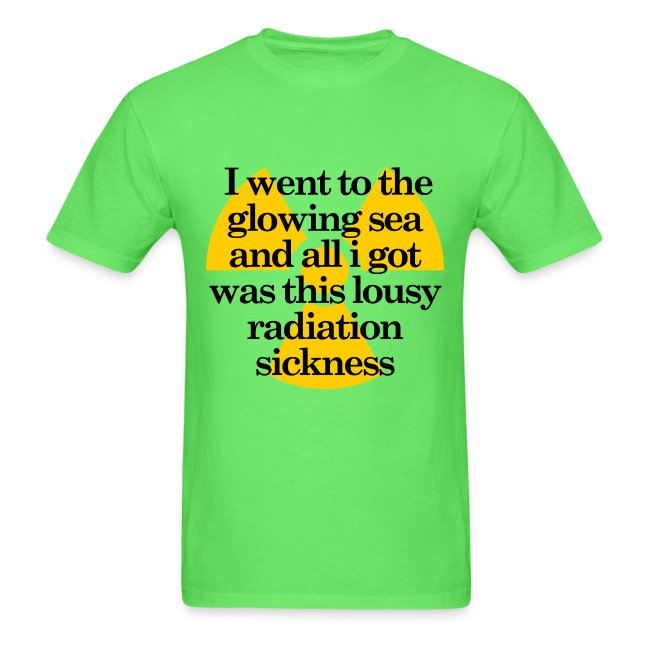 Glowing Sea