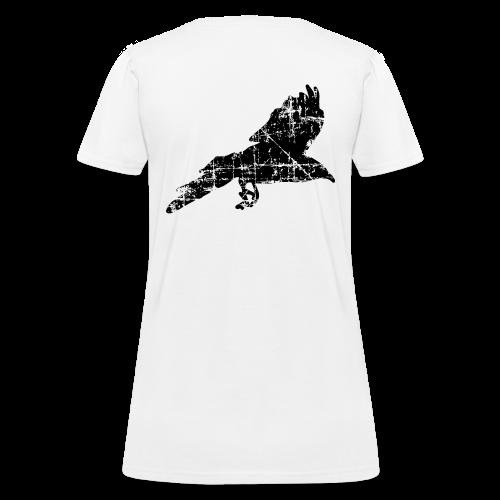 Raven T-Shirt (Back) - Women's T-Shirt
