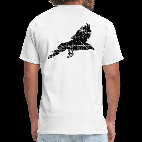 Raven T-Shirt (Back) - Men's T-Shirt