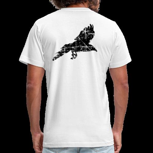 Raven T-Shirt (Back) - Men's Fine Jersey T-Shirt