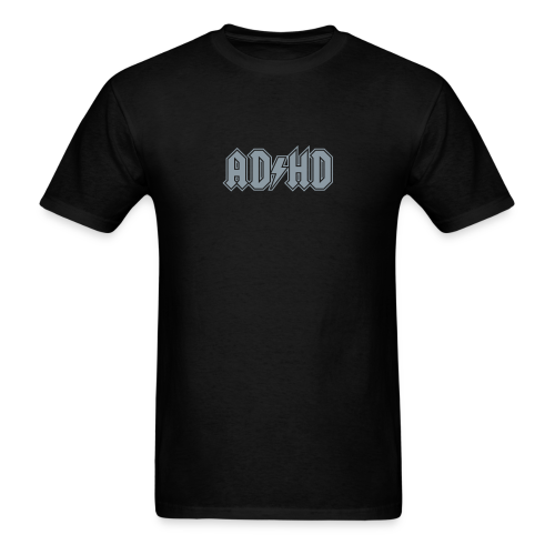 ADHD ACDC Logo - Men's T-Shirt