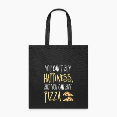 Cant buy happiness, but pizza Bags & backpacks