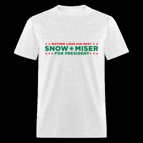 Snow Miser for President - Men's T-Shirt