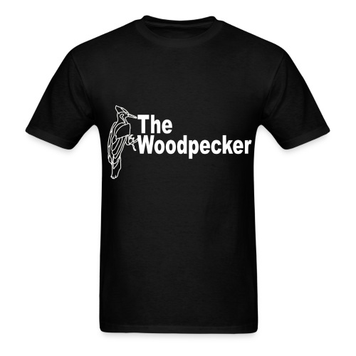 The Woodpecker logo - Men's T-Shirt