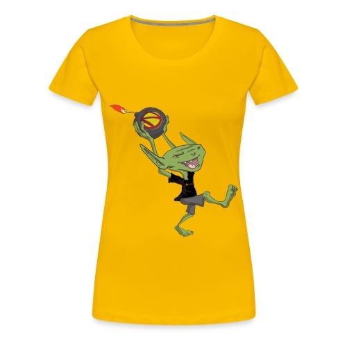 Goblin Bomber Men's Premium T-Shirt - Women's Premium T-Shirt