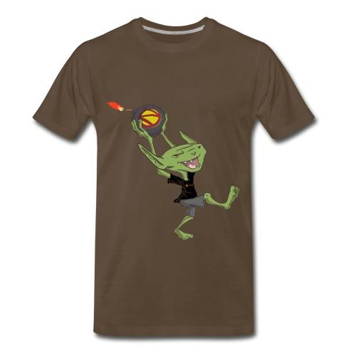 Goblin Bomber Men's Premium T-Shirt - Men's Premium T-Shirt