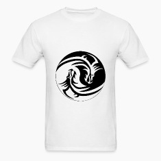 Dragon Yin/Yang T-Shirts