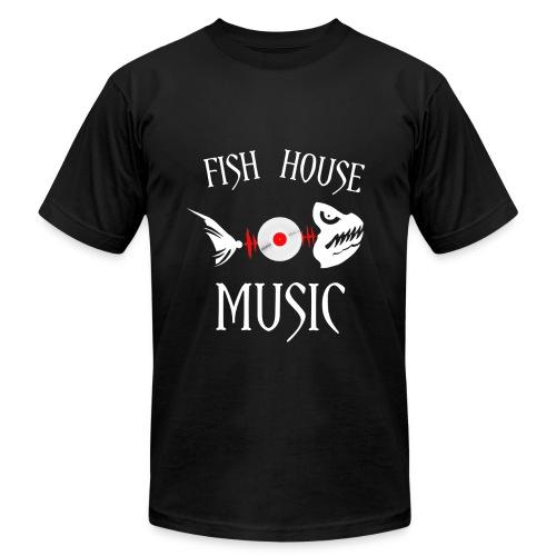 Men's Premium Fish House Music Shirt - Men's Fine Jersey T-Shirt