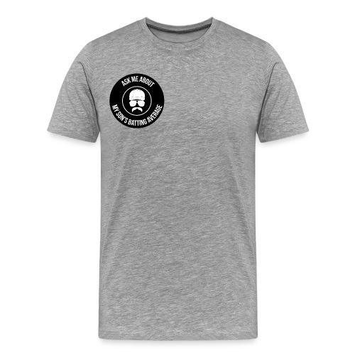 Son's Batting Average - Men's Premium T-Shirt