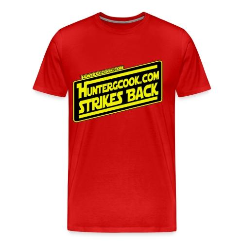 HunterGCook Strikes Back - Men's Premium T-Shirt