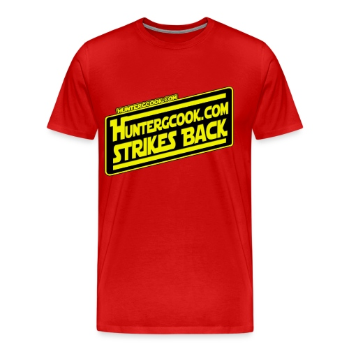 HunterGCook Strikes Back - Men's Premium T-Shirt