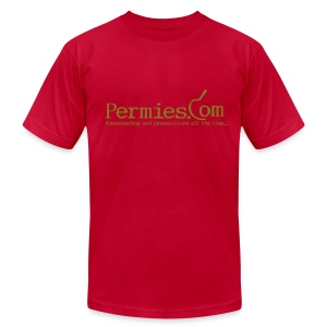 Permies Sickle Tee - Men's T-Shirt by American Apparel