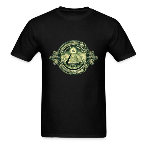 Illuminati Pyramid - Men's T-Shirt