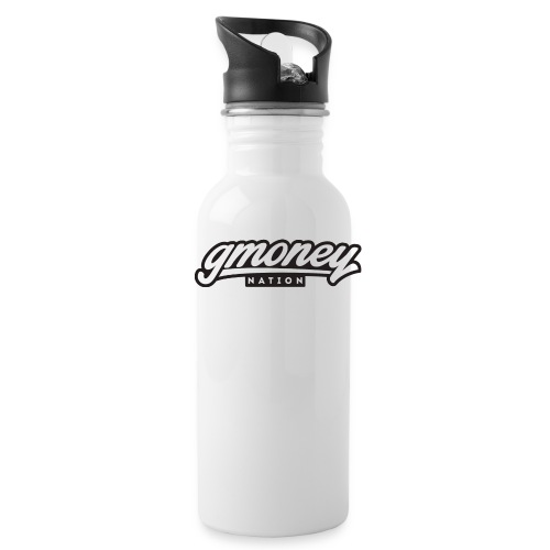 G Money Water Bottle Flagship Logo - Water Bottle