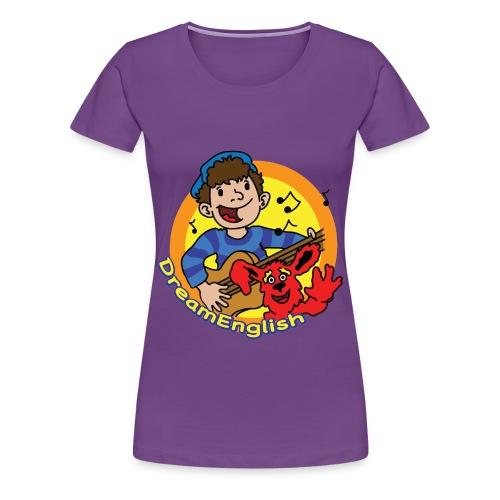 WOMEN'S T-SHIRT: MATT & TUNES - Women's Premium T-Shirt