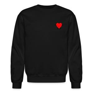 Happy Heart Sweatshirt - Crewneck Sweatshirt