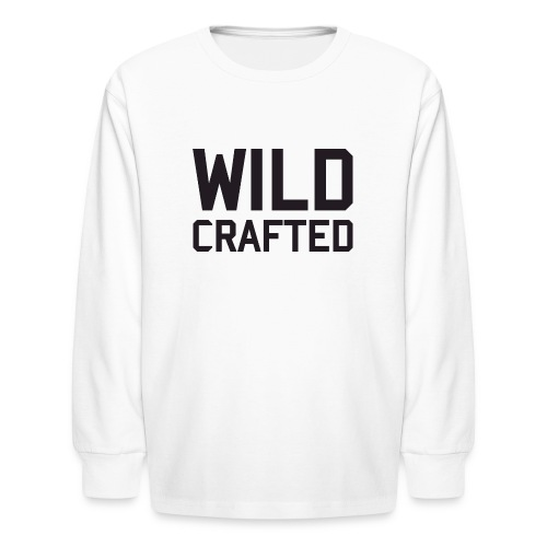 WILD CRAFTED LONG SLEEVED TEE - Kids' Long Sleeve T-Shirt
