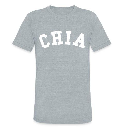CHIA UNISEX TEE GRAY - Unisex Tri-Blend T-Shirt
