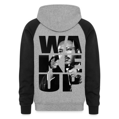 Cokey $hores Posh Gang X Wake Up MLK - Colorblock Hoodie