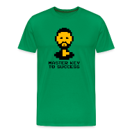 T-Shirts ~ Men's Premium T-Shirt ~ Master Key to Success