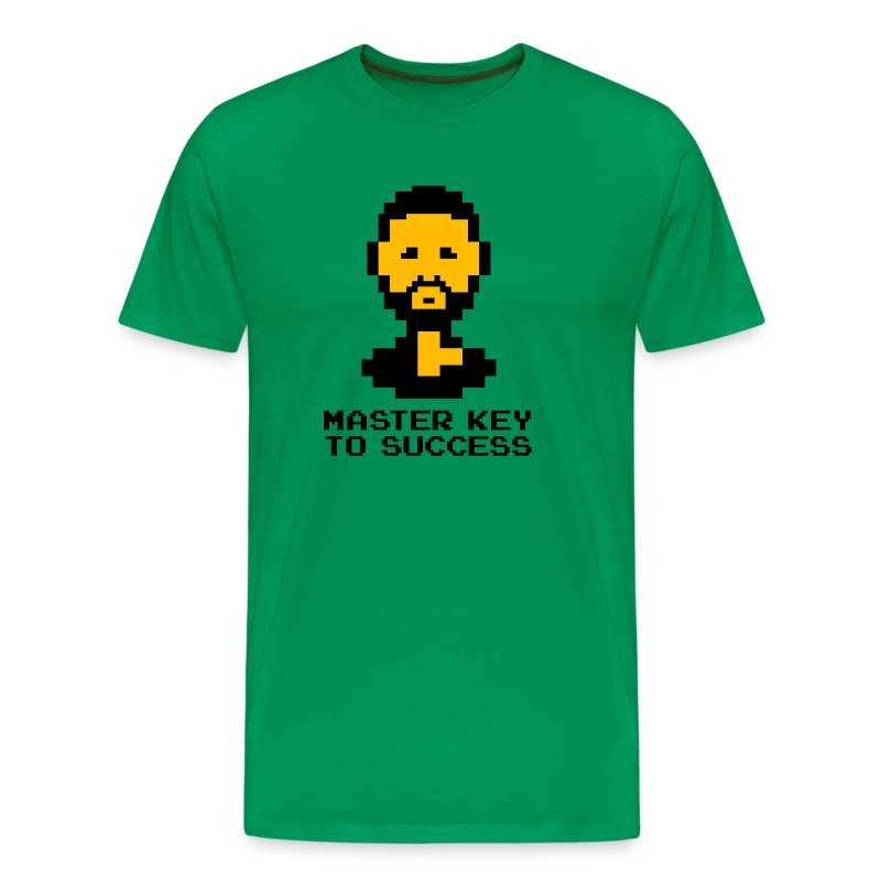 Master Key to Success - Men's Premium T-Shirt