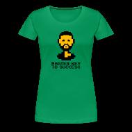 T-Shirts ~ Women's Premium T-Shirt ~ Master Key to Success - Ladies
