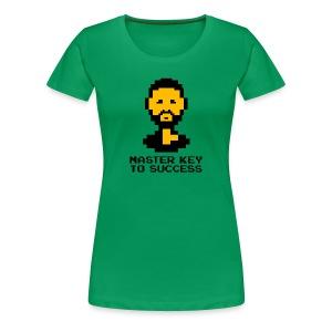 Master Key to Success - Ladies - Women's Premium T-Shirt