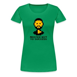 Master Key to Success - Ladies - Women's Premium T-Shirt