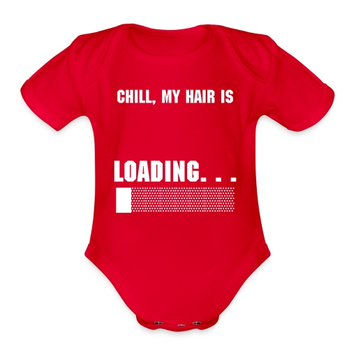 What the Frizz: Loading... - Organic Short Sleeve Baby Bodysuit