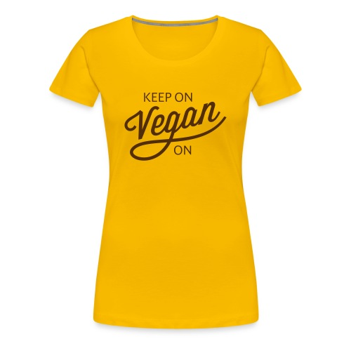 KOVO — Womens Tee (Yellow) - Women's Premium T-Shirt