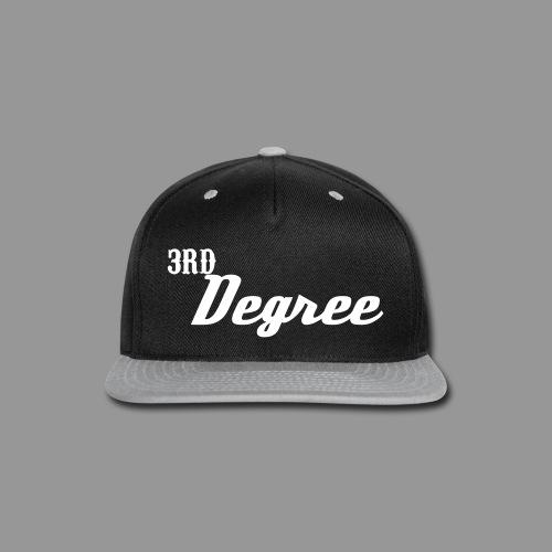 3rd Degree Hat - Snap-back Baseball Cap