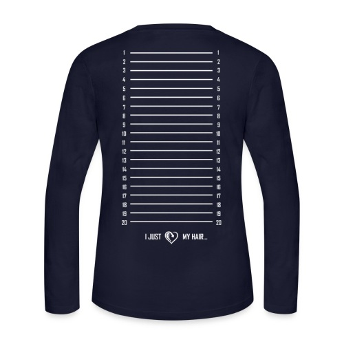 Length Check (Long Sleeve) - Women's Long Sleeve Jersey T-Shirt