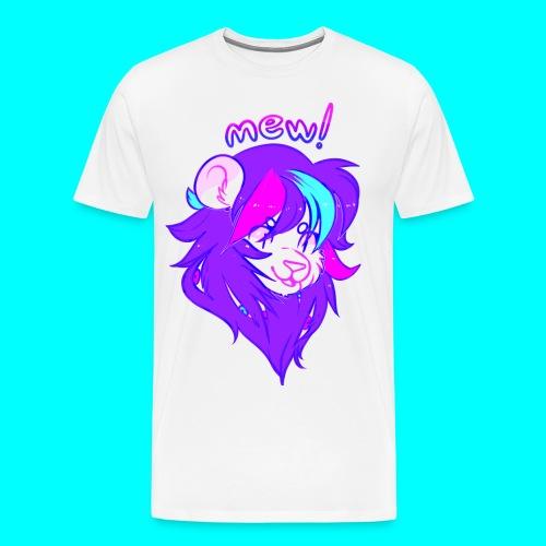 mew! - Men's Premium T-Shirt